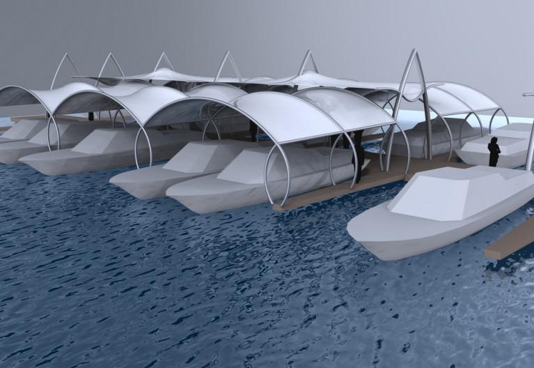 Système de toits textiles architecturaux