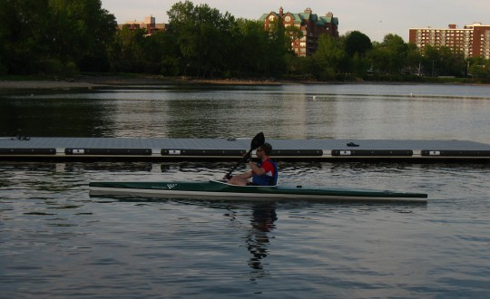 Rowing Pontoons