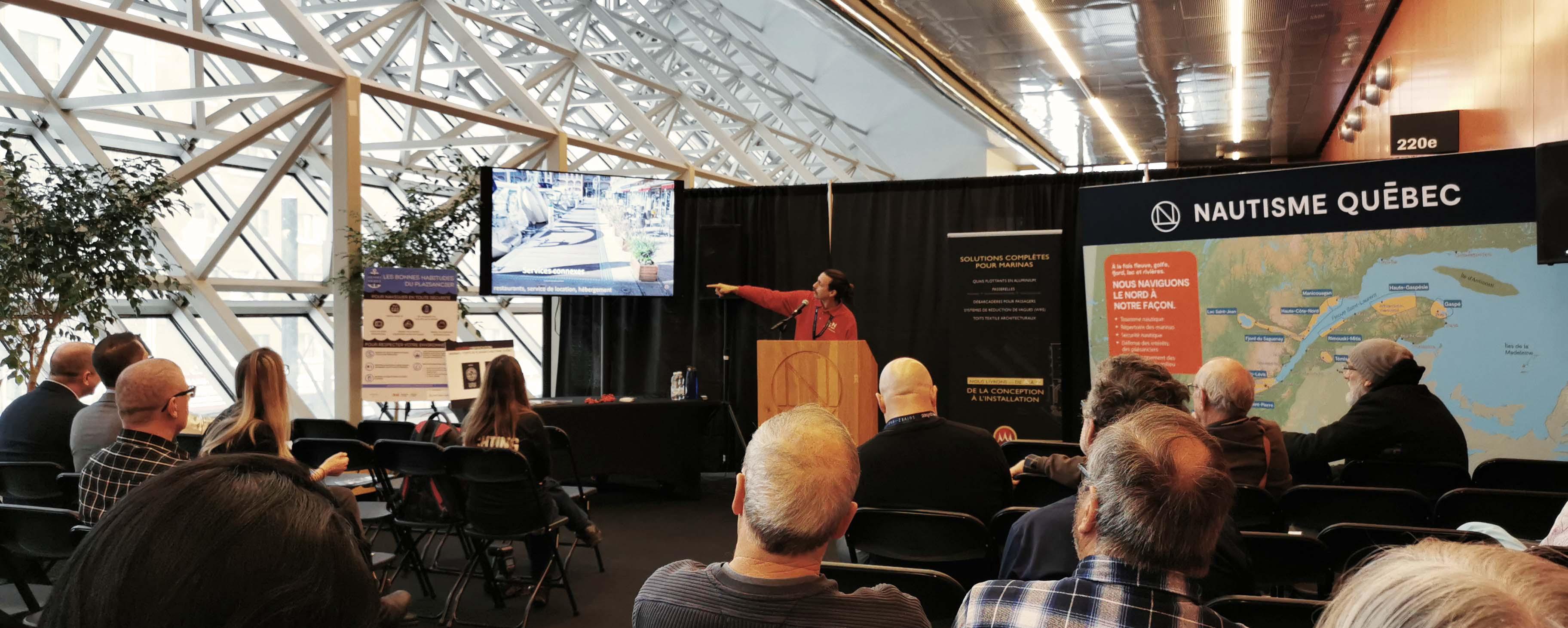 Nouvelles tendances de gestion des marinas à l'international – Salon du bateau de Montréal